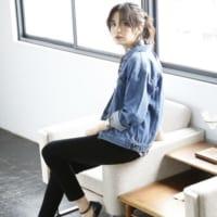 秋のスタイリングにプラスする☆「デニムジャケット」を使った大人カジュアルコーデ集