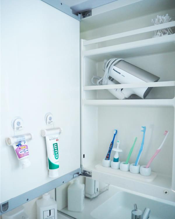 歯ブラシ収納 無印6