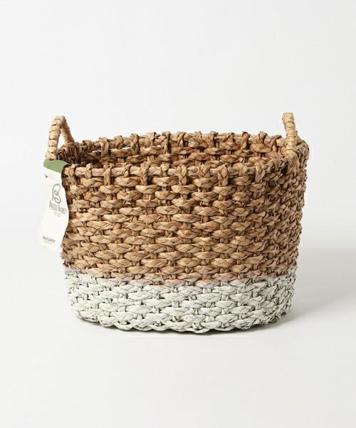 三つ編みバスケット