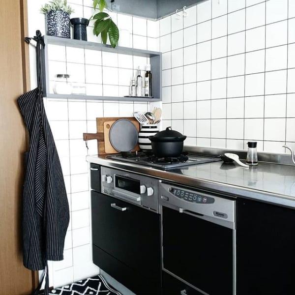 キッチン おしゃれ 壁紙2