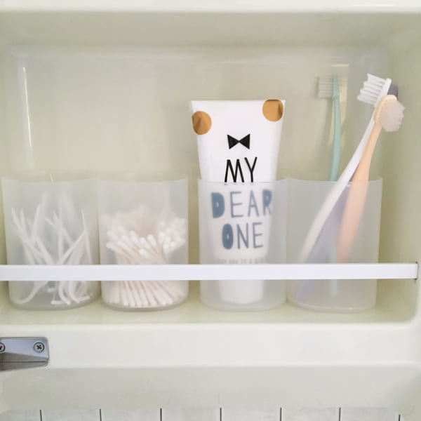 歯ブラシ収納 100均6
