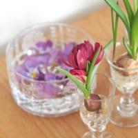 シンプルかつ繊細!ガラスの花器を取り入れた素敵なお部屋をご紹介します☆