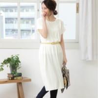 【プチプラ】気軽に着れる♪この夏必見の大人女性的ホワイトワンピース特集!