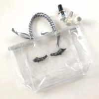 海やプール、スパもOK♪【ダイソー】のクリアバッグをオリジナルデザインにカスタマイズ♡