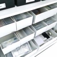 【連載】薬・文房具・雑誌・裁縫道具…散らかる日用品をすっきりモノトーン収納♪