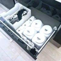 【連載】真っ白なキッチンシンクとシンク下の「毎日使うもの」収納♪