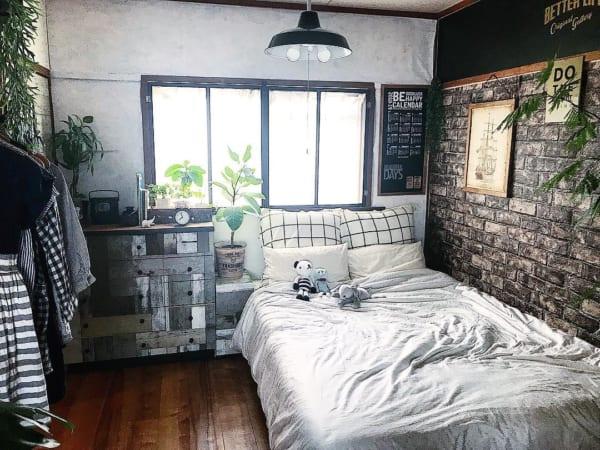 安眠に効果的な寝室インテリアの法則50
