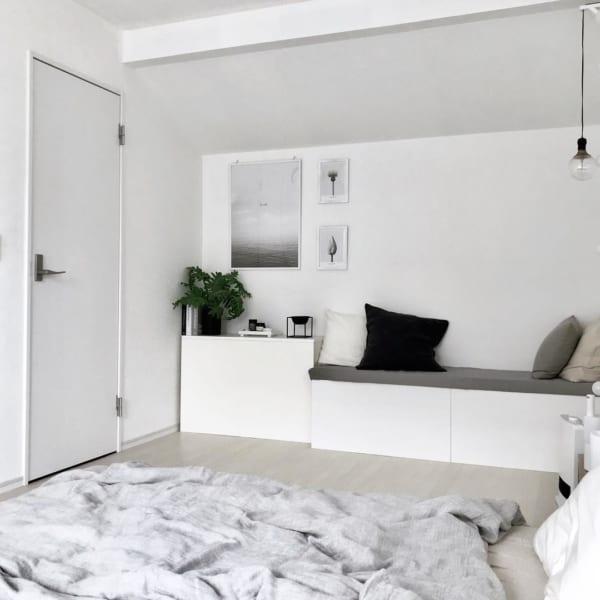 安眠に効果的な寝室インテリアの法則55