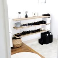 【玄関スッキリ】靴の収納アイデア実例!100均・ニトリも活用♪