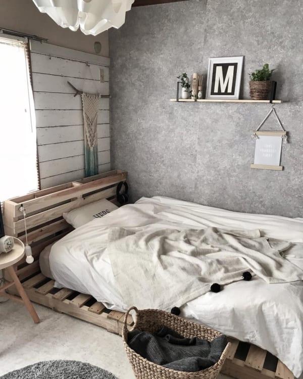 安眠に効果的な寝室インテリアの法則74
