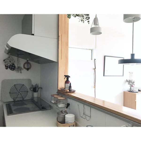I型キッチン6