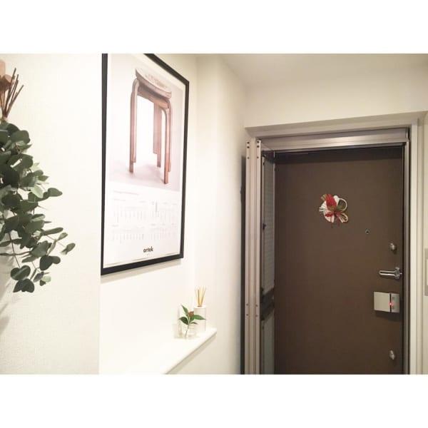 マンションの玄関インテリア3