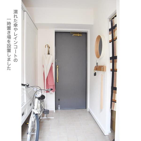 マンションの玄関インテリア