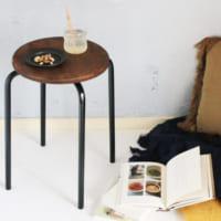 【連載】IKEAの499円スツールをリメイク!簡単DIYで作る「アンティークスツール」
