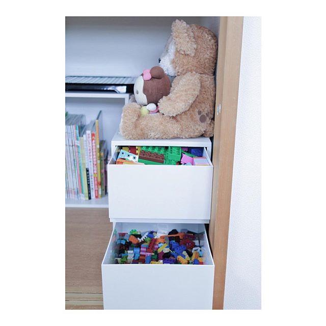 子供のおもちゃを無印収納2