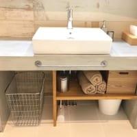 洗面台下の収納アイデア26選!《100均や無印など》手軽にスペースを有効活用