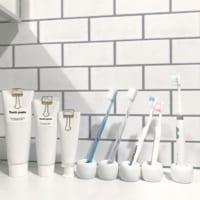【無印】と【100均】の歯ブラシスタンドを使い倒す!収納上手さんの活用法