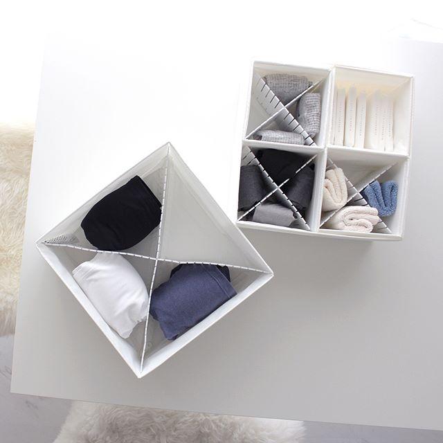 IKEAのSKUBBを使った収納術6
