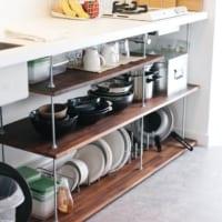 キッチン収納を上手に活用するには?インスタグラマーに学ぶ賢い台所収納術☆