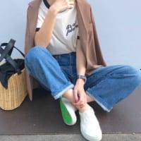 スリッポンコーデ50選!この秋気になる【定番スニーカー・レザー・スウェードetc.】☆