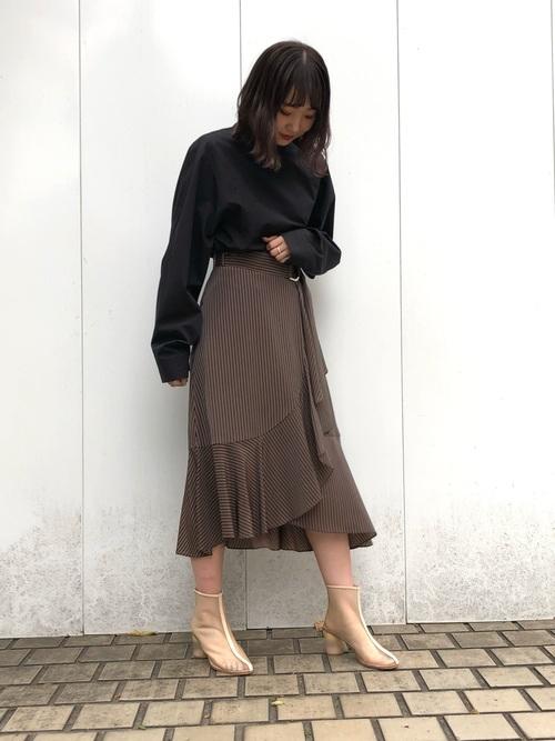 [UNITED TOKYO] 2WAYボリュームスリーブシャツ