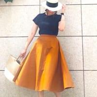 ユニクロ秋の新作≪コットンサーキュラースカート≫に注目!おしゃれな大人女子の着こなし15選