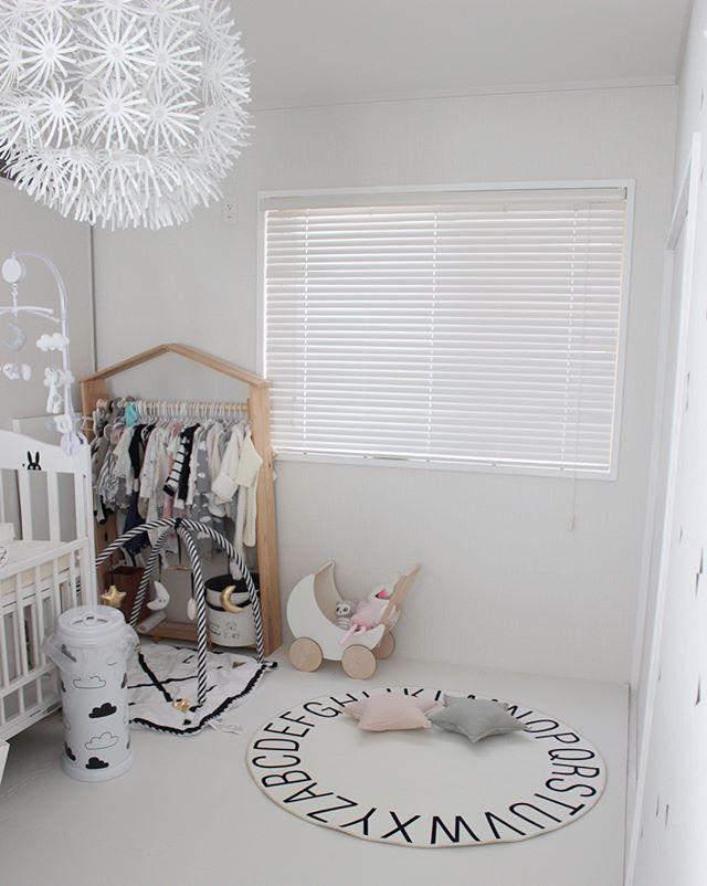 赤ちゃんのお部屋 モノトーンインテリア3