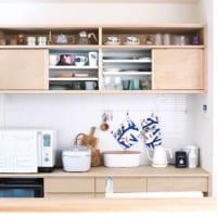 キッチン棚を使った収納実例やDIY例をご紹介♪便利な棚を上手く活用しよう!