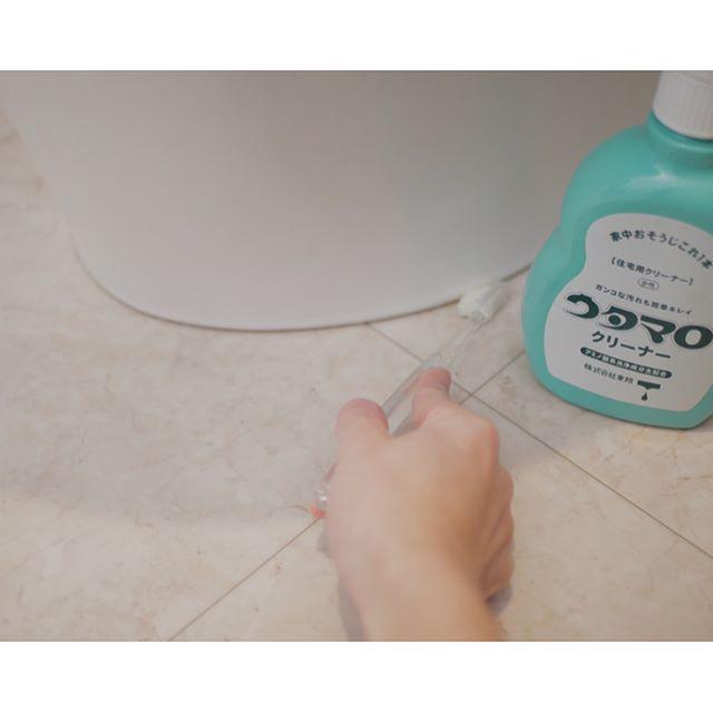 トイレ 床 掃除2