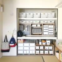 イマドキの和室収納をたっぷりご紹介します☆家具と押入れ収納の工夫でグッと素敵に♪