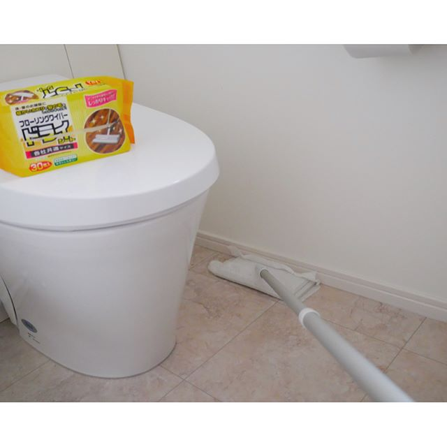 トイレ 乾拭き