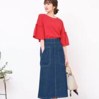 秋になったら穿きたい☆「ロングデニムスカート」で大人の休日スタイリング集