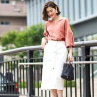秋のトレンドカラーはピンク&パープル!大人女性スタイリングをご紹介