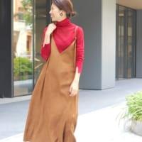 人気急上昇の「ジャンパースカート」♡大人女性ならではの可愛い着こなしをご紹介!