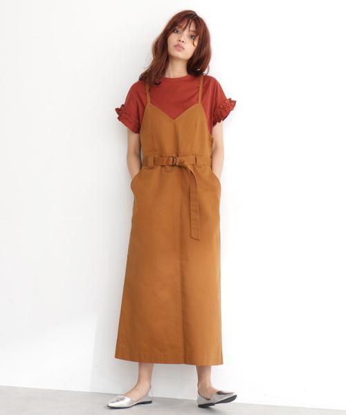 ◆Dickies / ディッキーズ 【Free's Mart 別注】キャミジャンパースカート