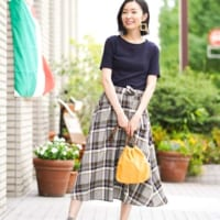 夏を彩る大人コーデ♡《柄物スカート》を上手に履きこなそう!