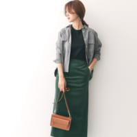 コーデュロイスカートで作る大人の秋コーデ♪人気ブランドの新作アイテムをチェック!
