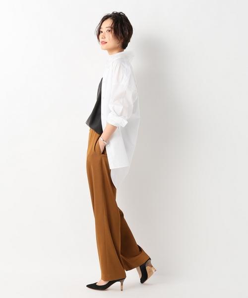 [Spick & Span] ロングシャツ◆