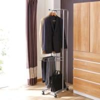 スーツ収納特集♪クローゼットから一時保管まで、使える収納術をご紹介☆