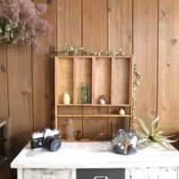 【連載】木箱を活用!秋を楽しむ古道具テイストのディスプレイ棚