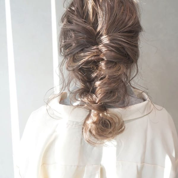 編み込み やり方 大人女性