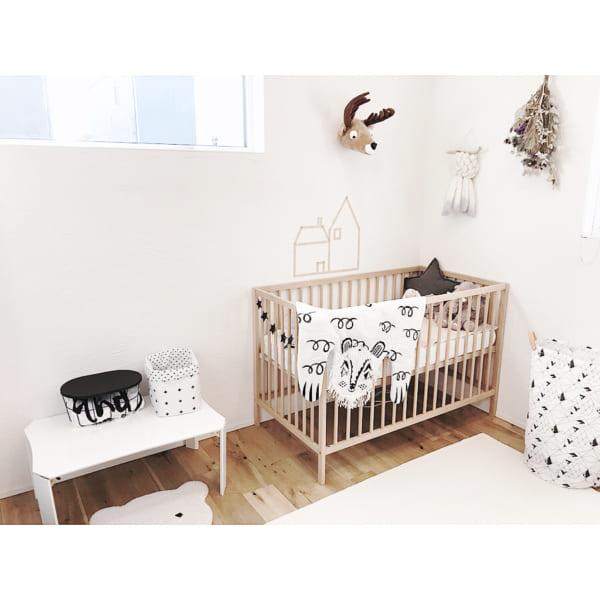 赤ちゃんのお部屋 北欧インテリア