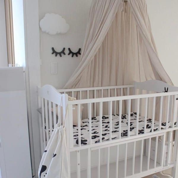 赤ちゃんのお部屋 モノトーンインテリア4