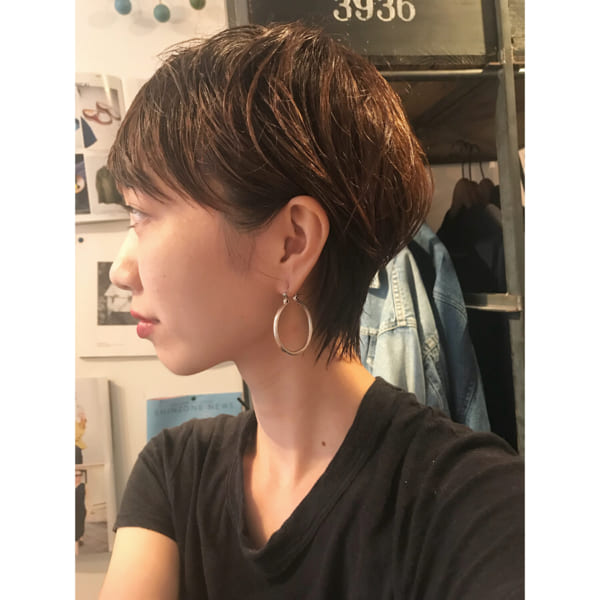 髪の質を活かしたストレート23