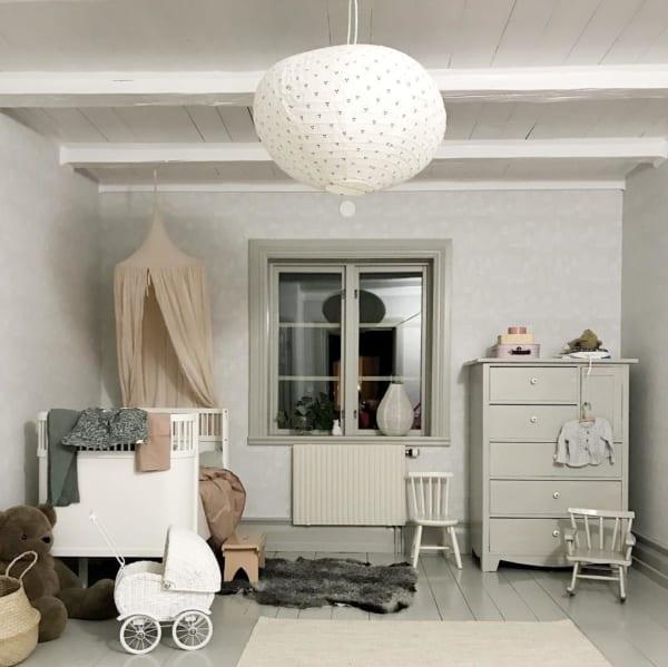 赤ちゃんのお部屋 グレーインテリア3
