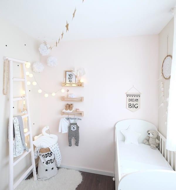 赤ちゃんのお部屋 ホワイトインテリア