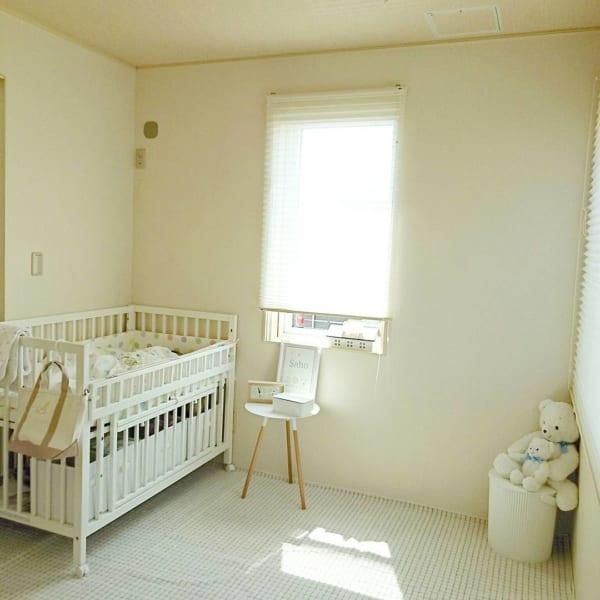 赤ちゃんのお部屋 ホワイトインテリア2