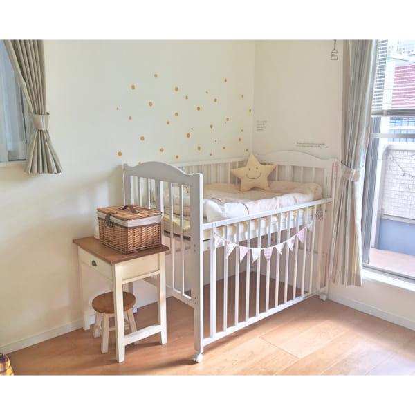 赤ちゃんのお部屋 ナチュラルインテリア
