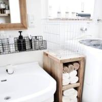 ランドリー収納のおすすめアイテムは?すっきり使いやすい洗濯機周りを作ろう!