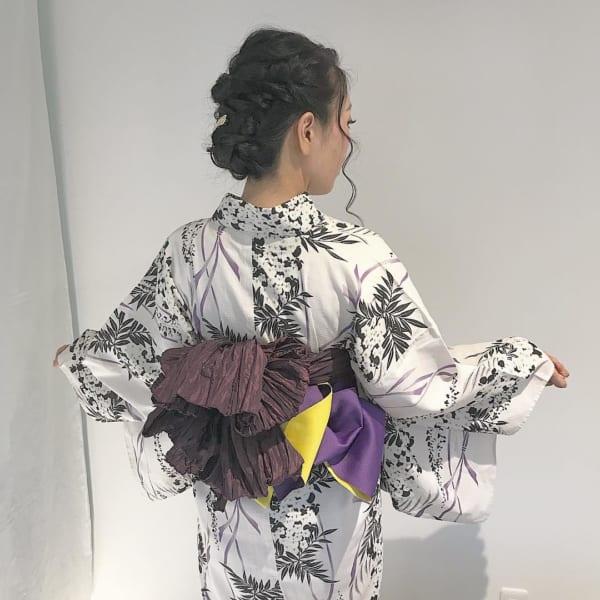 編み込み やり方 着物3